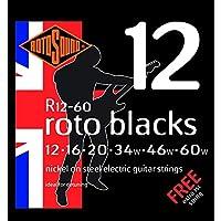ROTOSOUND ROT-R12-60 Roto Blacks エレキギター弦