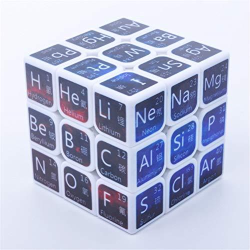 Leeec Aprendizaje Secundaria Fórmula Cubo de la Velocidad de Tercer Orden matemático Química Física Enseñanza Juguete Creativo Junior,D