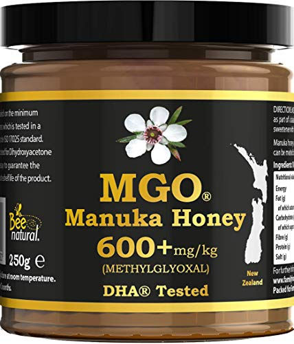 Manuka Honey 600 + MG - 250 g