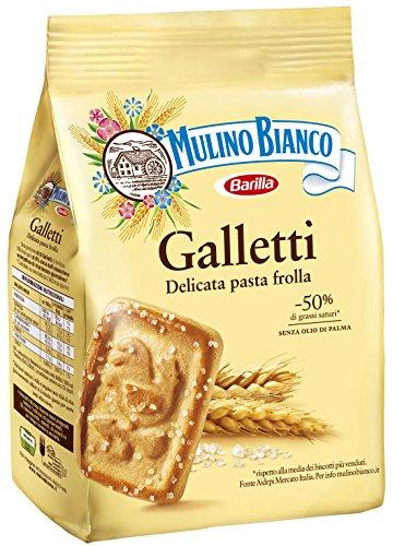 Mulino Bianco - Galletti, Biscotti Frollini, 800 g
