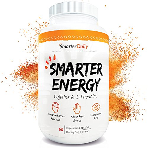 Caffeine 150mg & L-Theanine 200mg - 60 Pills - Mental Health Nootropic...