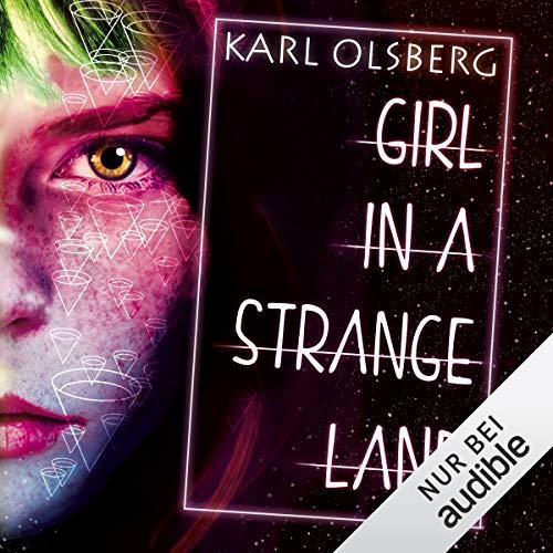 Girl in a Strange Land audiobook cover art