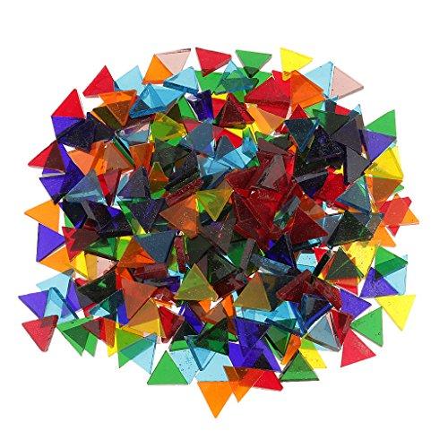 kowaku Azulejos de Mosaico de Vidrio Vítreo de Muchos Estilos, Pieza de Tessera para Hacer Mosaicos, Manualidades de Bricolaje - tal como se describe, 14mm