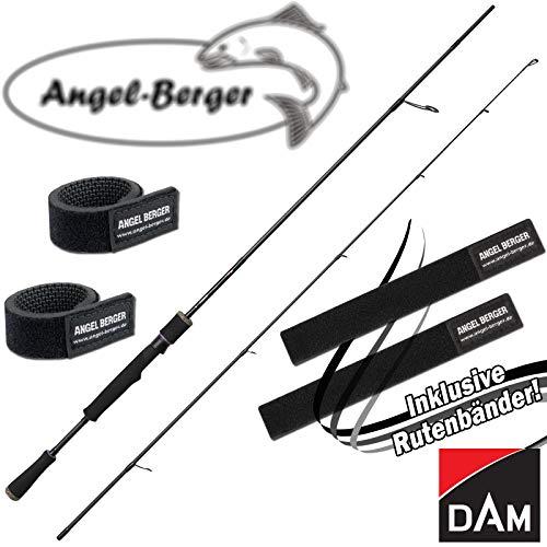 Angel-Berger Dam Effzett YAGI Spinnrute Angelrute Raubfischrute alle Modelle Rutenband (2,10m 7-28g)