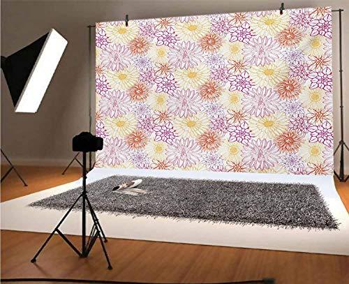 Fondo de vinilo floral de 35 x 30 m, para fotógrafos, spa, jardinería, diseño de pétalos de flores, esencia de ramo de arte para fiestas, decoración del hogar, decoración del hogar al aire libre
