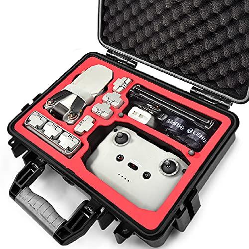LEKUFEE Funda Rígida Impermeable Compatible con el Nuevo DJI Mini 2 Drone o DJI Mavic Mini SE y Más Mavic Mini 2 Accesorios (No Incluye Drones y Accesorios)