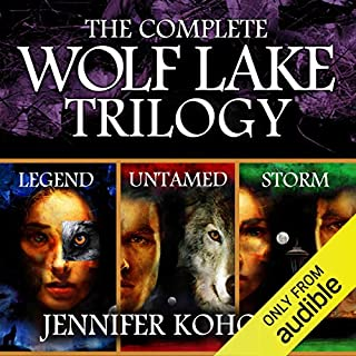 Wolf Lake: The Complete Trilogy cover art