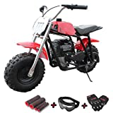 X-PRO 40cc Kids Mini Dirt Bike Pit Bike Gas Power Bike Off Road Motorcycle,Red