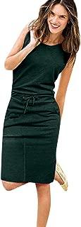 Women's Skirt Holiday Sleeveless Sundress Beach Casual Party Dresslim Fit Comfy Dress
