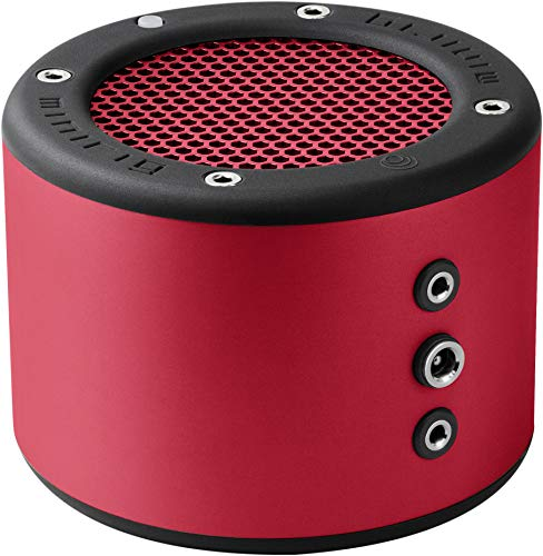 MINIRIG 3 Altavoces Bluetooth Recargables portátiles - Batería de 100 Horas - Sonido Hi-Fi Fuerte - Rojo