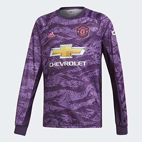 adidas Kinder Manchester United Home Torwarttrikot Kurzarm XXL Legend Violett