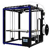 Impresora 3D Kit de Impresora DIY 3D de Aluminio de 400 * 400 * 400 mm de Gran tamaño de impresión con 3.5' de Pantalla táctil/Alimentación Reanudación/filamento Intento de...