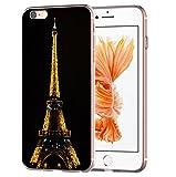 blitzversand Handyhülle Boutique Paris kompatibel für Huawei Mate 20 Lite Paris bei Nacht Schutz Hülle Case Bumper transparent M9