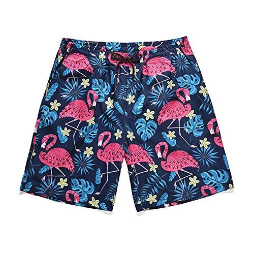 zx-shop Herren Badehose   Schwimmhose   M-XXL Beachshorts Sommer Herren Print Hawaiian Shorts Strandhosen-Outfits Urlaub Kleidung