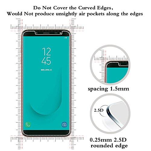 ANEWSIR Schutzfolie Kompatibel mit Samsung Galaxy J6 2018, [2 Stück] [5,6 Zoll] [HD Clear] [Anti-Bläschen] [Anti-Kratzen] Displayschutzfolie Folie.