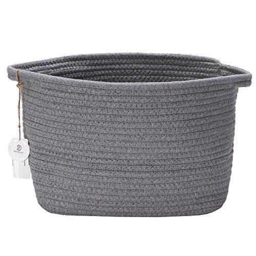 Sea Team Cotton Rope Storage Baskets (grau)