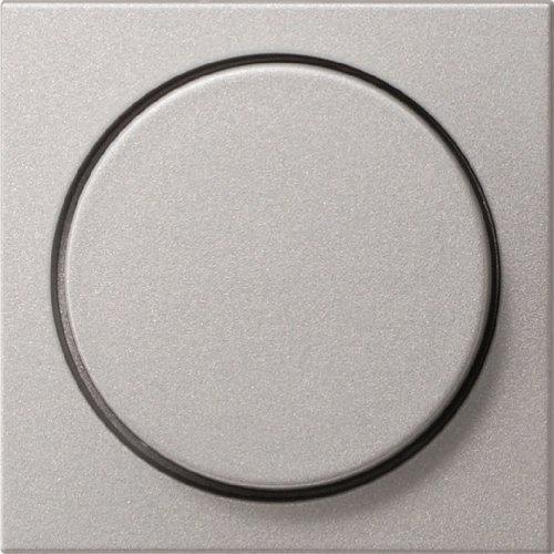 Gira 0650 26 Abdeckung 065026 Drehdimmer System 55 Farbe Alu, Aluminium