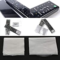 10Pcs Heat Shrink Film Cover For Samsung LG TV Air-Conditioner Remote Control