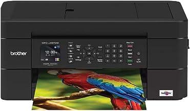 Brother MFC-J497DW Inkjet Multifunction Printer - Color - Plain Paper Print - Desktop 14 Inches, Black (Renewed)