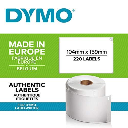 260 Etichetta per Rotolo 36mm x 89mm Printing Pleasure 10 x 99012 Rotoli Etichette adesive compatibile per Dymo LabelWriter /& Seiko Stampante per Etichette