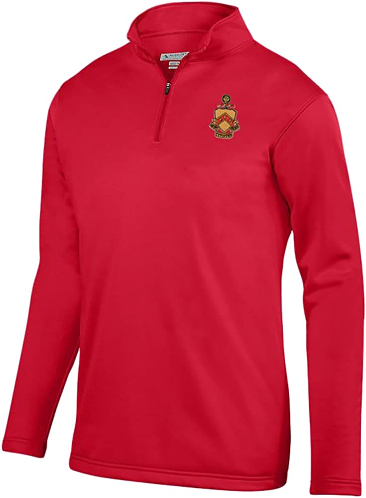 Phi Kappa Tau World Famous Crest Wicking Fleece Pullover