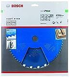 Bosch Professional 2608644340 Lame de scie circulaire Expert for Wood (pour bois, 254 x 30 x 2,6 mm, dents 22, accessoire scie circulaire)