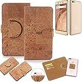 K-S-Trade® Handy Schutz Hülle Für Blaupunkt SL02 Korkhülle 1x