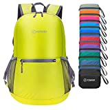 ZOMAKE Waterproof Ultra Lightweight Packable Backpack Hiking Daypack,Small Backpack Handy Foldable Camping Outdoor