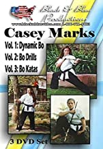 3 DVD Set Female Women Tournament Karate Bo Staff Training