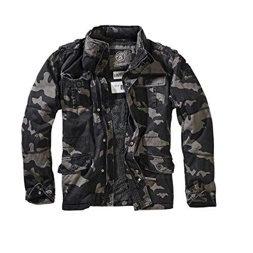 Brandit Britannia Winter Jacke Darkcamo XL