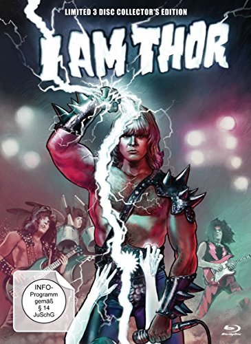 I am Thor - Limited 3 Disc Collector's Edition - Mediabook (+ DVD & Bonus-DVD) [Blu-ray] [Limited Edition]