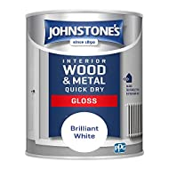 Low odour, water based formulation. Non-Yellowing. Dry time: 1-2 hours Coverage: 13m2 (per tin).