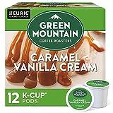 Green Mountain Coffee Roasters Caramel Vanilla Cream Keurig K-Cup Coffee, 12 ct