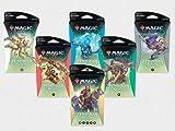 MTG Magic The Gathering Zendikar Rising All Six Jumbo Theme Boosters Packs!