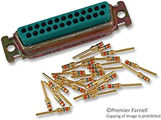 M24308/4-3F - D Sub Connector, DB25, 25 Contacts, Plug, Crimp, DB, M24308 Series, Steel Body (M24308/4-3F)