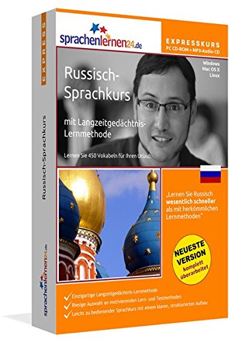 Sprachenlernen24.de Russisch-Express-Sprachkurs CD-ROM für Windows/Linux/Mac OS X + MP3-Audio-CD für Computer/MP3-Player/MP3-fähigen CD-Player