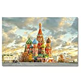 Non-branded artaslf Moderner Roter Platz In Moskau Plakat