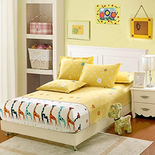 YDyun Funda de colchón Anti chinches, Transpirable, Protector de colchón de algodón de una Sola Pieza