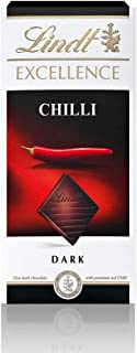 Lindt Excellence Dark Chilli Chocolate, 100 gm (Pack of 1)
