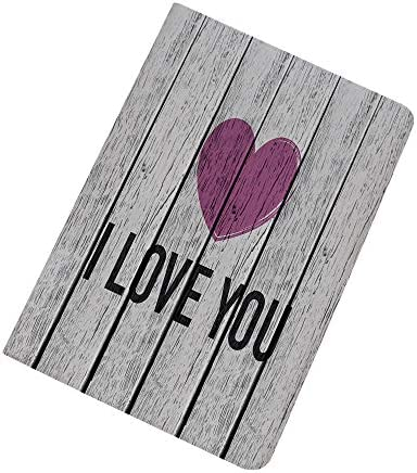 I Love You iPad Air 2 iPad Air Case Love You Typography on Wooden Planks Rustic Symbolic Celebration product image