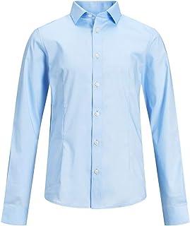 Jack & Jones Boy's JPRPARMA SHIRT L/S STS JR Shirt