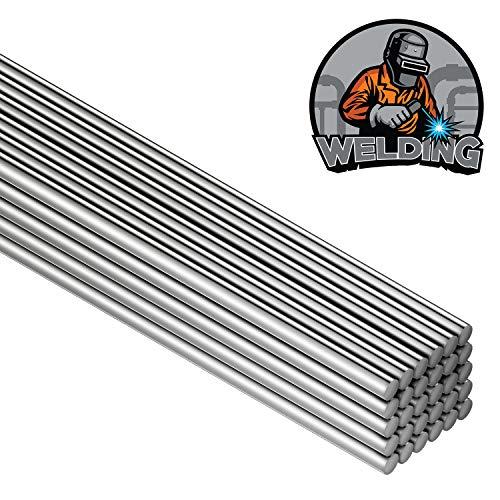 50 Pieces Aluminum Welding Rods 0.08 x 8 Inch...