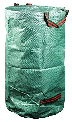 mgc24® Gartensack 120l - Stabiler Gartenabfallsack aus robustem Polypropylen Gewebe 150 g/m²