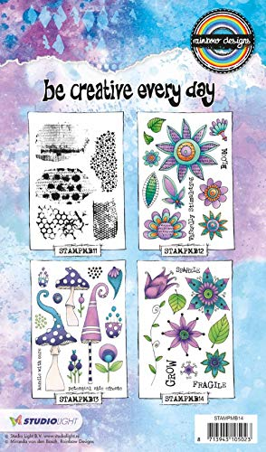 Clear Stamps - StudioLight - Rainbow Designs