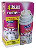 Johnsons 4Fleas Room Flea Fogger Twin Pack with IGR