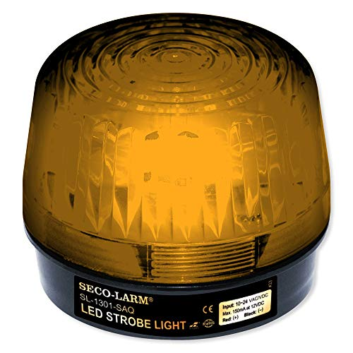 Seco-Larm SL-1301-BAQ/A LED Strobe Light Amber