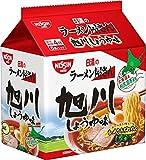 日清のラーメン屋さん 旭川しょうゆ味 5食P×6個
