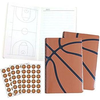 NSバスケノート(A6サイズ)ミシン綴じタイプ3冊+シール3枚セット プライム