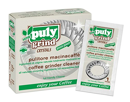 Puly Grind Espresso Coffee Grinder Cleaner - Box of 10 by Puly Caff