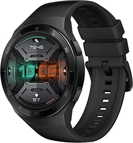 HUAWEI Watch GT 2e Smartwatch (SpO2-Monitoring,Herzfrequenz-Messung,Musik Wiedergabe,GPS,Fitness Tracker,5ATM wasserdicht) graphite black - 3